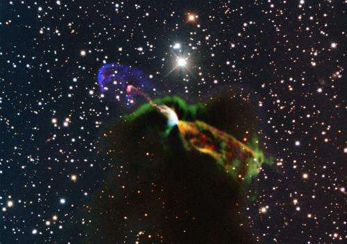 ALMA takes close look at drama of starbirth