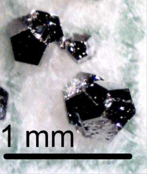 Ames Laboratory scientists discover new family of quasicrystals