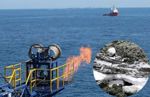 Arctic gas hydrate: Vast energy resource or climate threat?