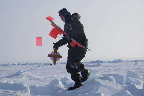 Arctic sea ice: Researchers, students partner with Naval Academy in Arctic training exercises
