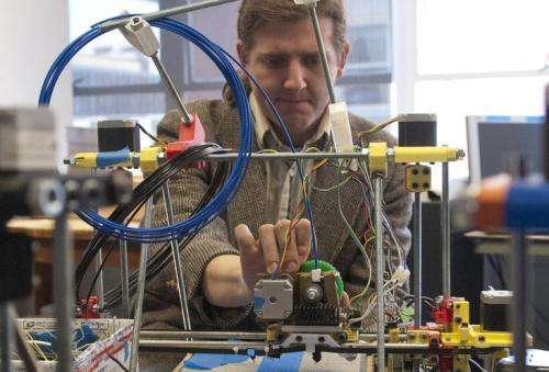 A revolution in three dimensions ... maybe four: PSU explores 3-D printing