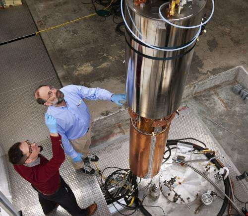 A shot in the dark: Detector on the hunt for dark matter