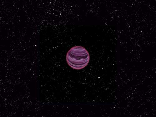 A strange lonely planet found without a star