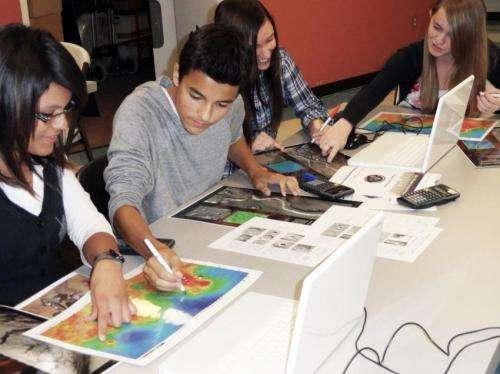 ASU Mars education program wins science-teaching award from Science magazine