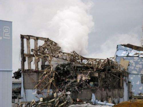 A TEPCO picture from March 15, 2011 of the unit 3 reactor at the crippled Fukushima nuclear power plant
