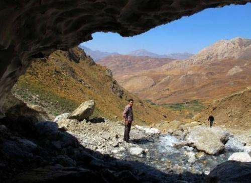 A view of the Halgurd-Sakran National Park, 170km northeast of the Iraqi city of Arbil, on September 1, 2013