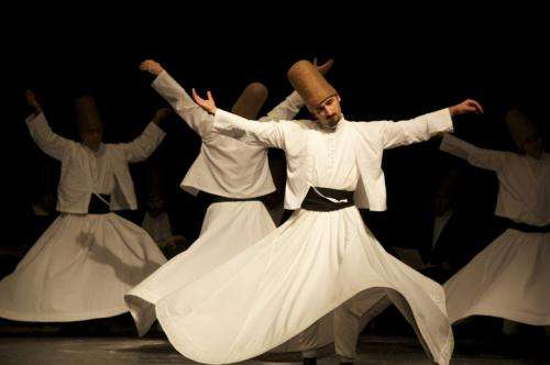 A Whirling Dervish puts physicists in a spin