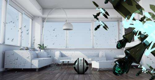 Flying mini-robot cleaners wins Electrolux Design Lab competition