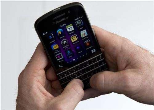 BlackBerry posts 3Q loss of $4.4B