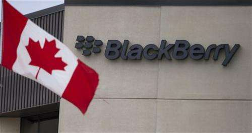 BlackBerry weighs putting itself up for sale