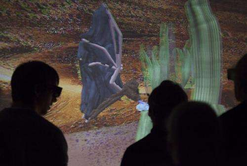 Brown students model bat flight in virtual reality