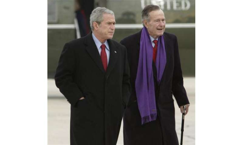 Bush family emails, photos apparently hacked