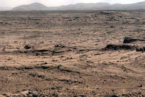 ChemCam follows the 'Yellowknife Road' to Martian wet area