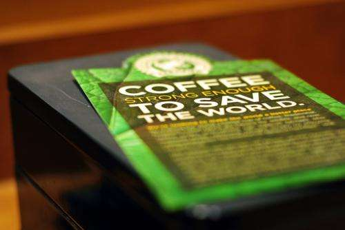 Coffee greenwashing works
