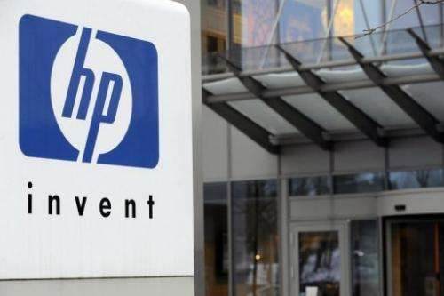 Computer maker Hewlett-Packard headquarters on January 12, 2010 in Diegem, Belgium