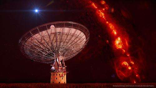 Cosmic radio bursts point to cataclysmic origins