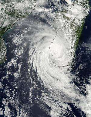 Cyclone Haruna makes landfall in Madagascar