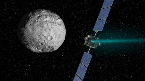 Dawn is in Silent Pursuit of Ceres