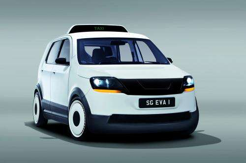 Electric taxi 'EVA' for tropical megacities