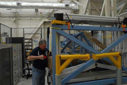Entrepreneur giving shuttle truss new uses