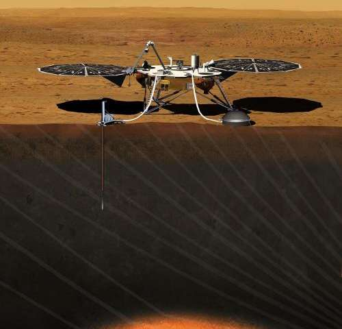 NASA evaluates four candidate sites for 2016 Mars mission