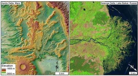 Evidence for a Martian Ocean
