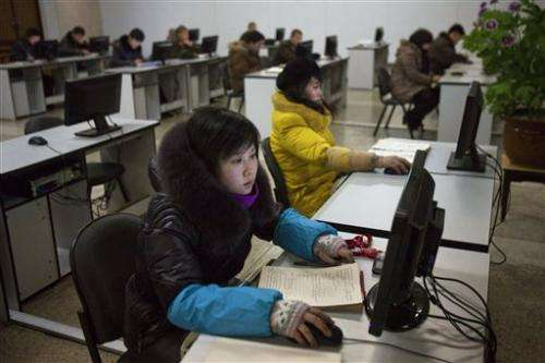 Experts: NKorea training teams of 'cyber warriors'
