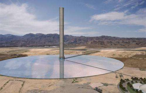 Famed balloonist proposing huge inflatable solar updraft tower for observatory