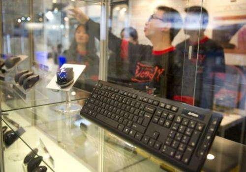 File picture. Personal computer sales slipped at the end of last year, despite the holiday shopping season