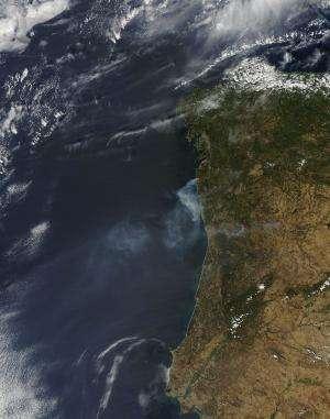 Fires plague Portugal