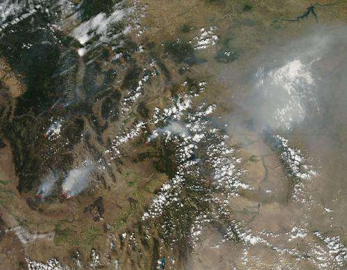 Fires plaguing Idaho