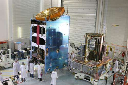 Flawless launch of Alphasat, Europe's largest and most sophisticated telecom satellite