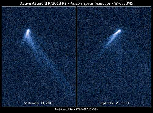 'Freakish' asteroid discovered, resembles rotating lawn sprinkler