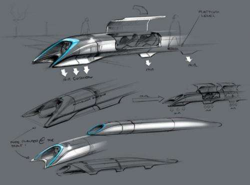 'Hyperloop' would link LA-SF in 30 mins, if built