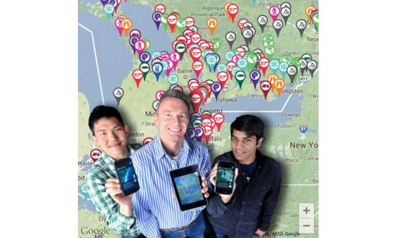 Geology app helps students hunt for fossils, study waterfalls