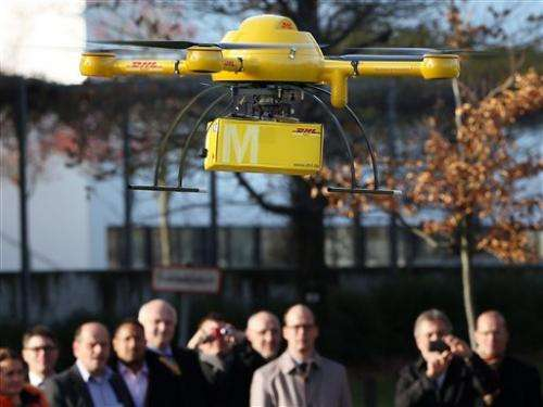German firm testing drones to deliver goods