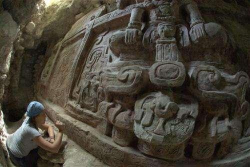 Guatemala: 'Extraordinary' Mayan frieze found