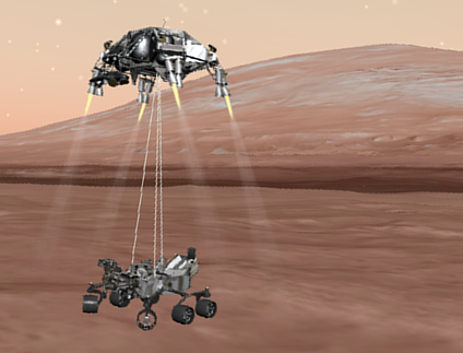 How Mars failures helped the Curiosity rover land