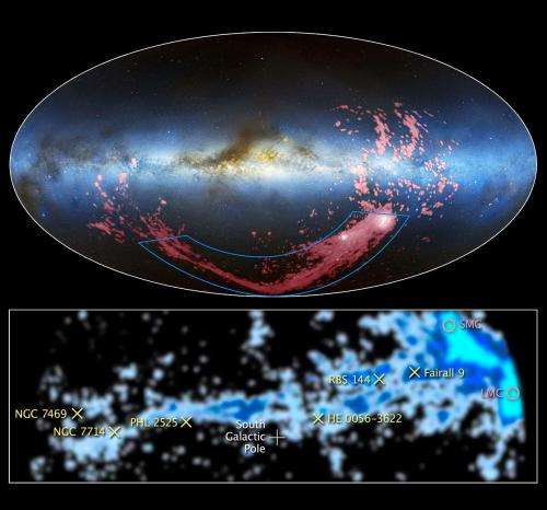 Hubble finds source of Magellanic Stream