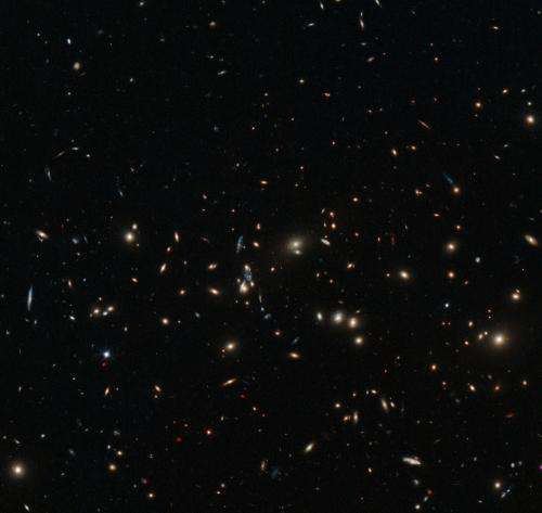 Hubble Views a Scattering of Spiral and Elliptical Galaxies