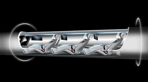 'Hyperloop' would link LA-SF in 30 mins, if built