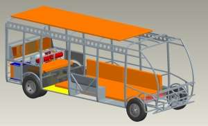 IAA: Modular Battery Concept for Short-distance Traffic