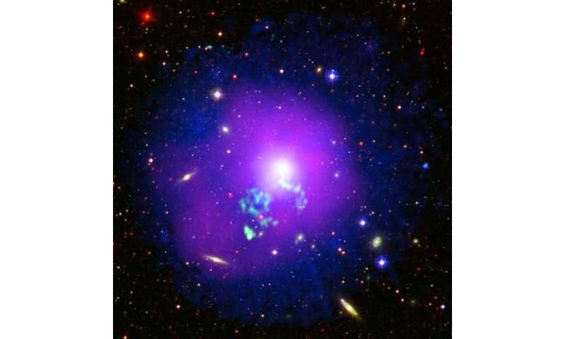 Image: Hot gas sloshing in a galactic cauldron
