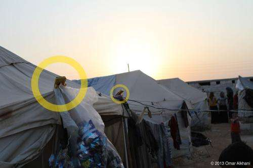Solar start-up helps power refugee camps in Syria