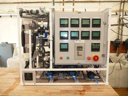 Improved water purification technology reduces SWaP, logistics burden
