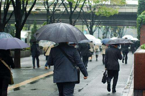 Increases in extreme rainfall linked to global warming