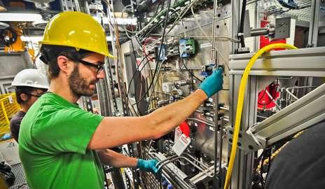 In former gold mine, scientists lie in wait for dark matter