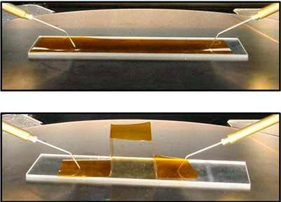 Inkjet-printed graphene electrodes may lead to low-cost, large-area, possibly foldable devices