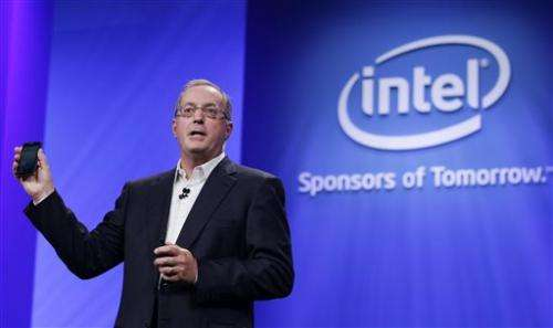 Intel names Krzanich as chipmaker's next CEO