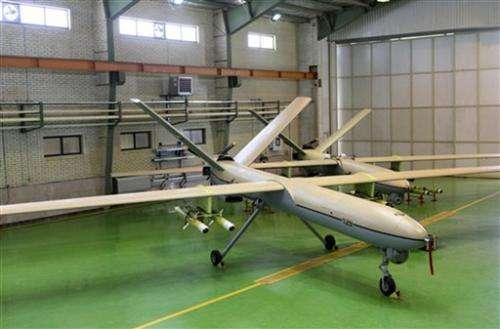 Iran's Revolutionary Guard unveils attack drone